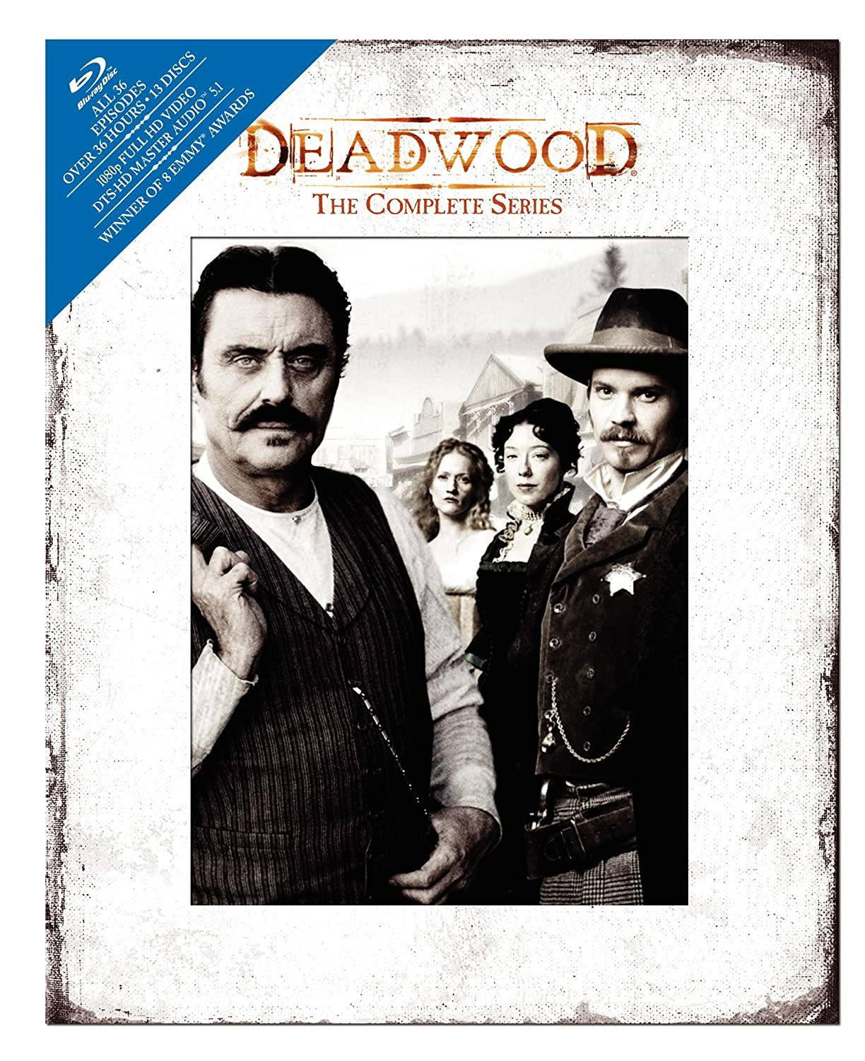 Deadwood: The Complete Series [Blu-ray] $59.88