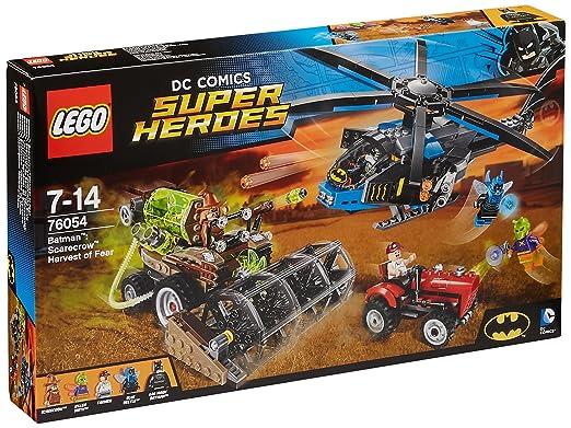 LEGO - 76054 - DC Comics Super Heroes  - Jeu de Construction - Batman : la récolte de peur de l'Épouvantail