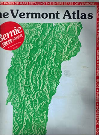 Vermont Atlas and Gazetteer (State Atlas & Gazetteer)