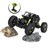 Best Choice Products 2.4 GHz 1/18 Rock Crawler Off-Road Vehicle High Speed Racing Remote Control Car (Green/Black) (Color: Green)