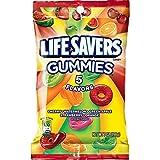Life Savers 5 Flavors Gummies Candy Bag, 7 ounce (12 Packs) (Tamaño: 7 ounce (12 Bags))