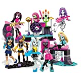 Mega Bloks Monster High Glam Ghoul Band Building Kit - Rock Out With 8 of Your Favorite, Super Detailed, Fashionable Characters and Instruments - Combine with Other Monster High Sets - Ages 6 Plus (Color: Multi Coloured)