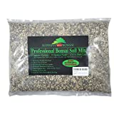 Bonsai Soil Mix - Premium Professional, All Purpose, Sifted Ready To Use Tree Potting Blend In Easy Zip Bag - Akadama, Black Lava, Pumice, Haydite & Charcoal -