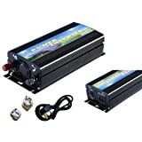 Solinba 500w Micro on Grid Tie Power Inverter Converter MPPT Pure Sine Wave Black DC22v-56v to AC 220v