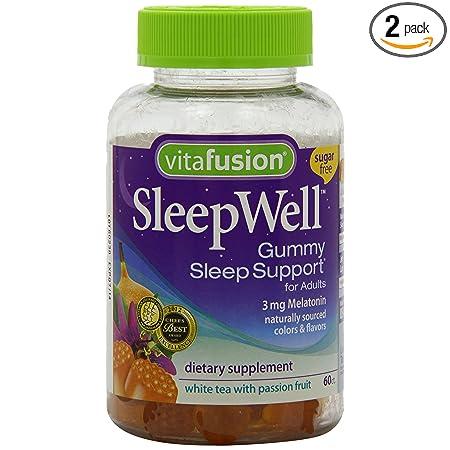 海淘小熊糖:Vitafusion 成人助眠小熊软糖  专供成年人