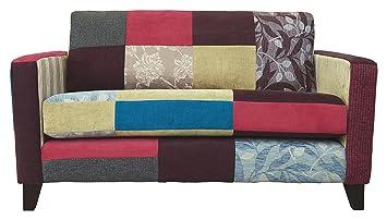 Kaleidoscope Small Sofa, Fabric - Bright Patch