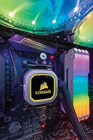 CORSAIR Vengeance RGB PRO 16GB (2x8GB) DDR4 3200MHz C16 LED Desktop Memory - White (Color: RGB PRO - White, Tamaño: 16GB (2x8GB))