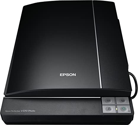 Epson Perfection Photo V370 Scanner à plat 4800 dpi, USB 2.0 Noir