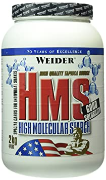 Weider HMS High Molecular Starch, 1er Pack (1 x 2 kg)