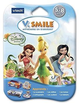 VTech - Cartouche de jeu V.Smile (Motion) Fee Clochette - 84325