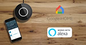BOND | Smart Home Automation | Make your Ceiling Fan or Fireplace Smart through WiFi | Works with Alexa, Google Home | Remote Control with App | Works with iPhone or Android (Color: black)