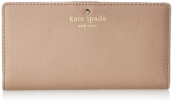 kate spade new york Cobble Hill Stacy Wristlet,Warm Putty,One Size