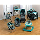 Baby Bundle Collection, Baby Gear Bundle Collection, Travel System, Play Yard, High Chair, Musical Swing and/or Bouncer (Geo Pooh) (Color: Geo Pooh, Tamaño: baby)