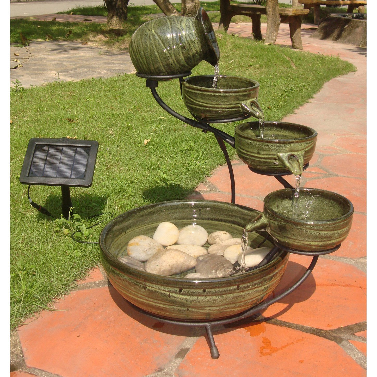 outdoor fountains fountain decorations for home