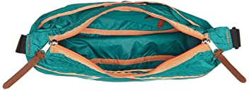 Satchel M: Emerald / Orange