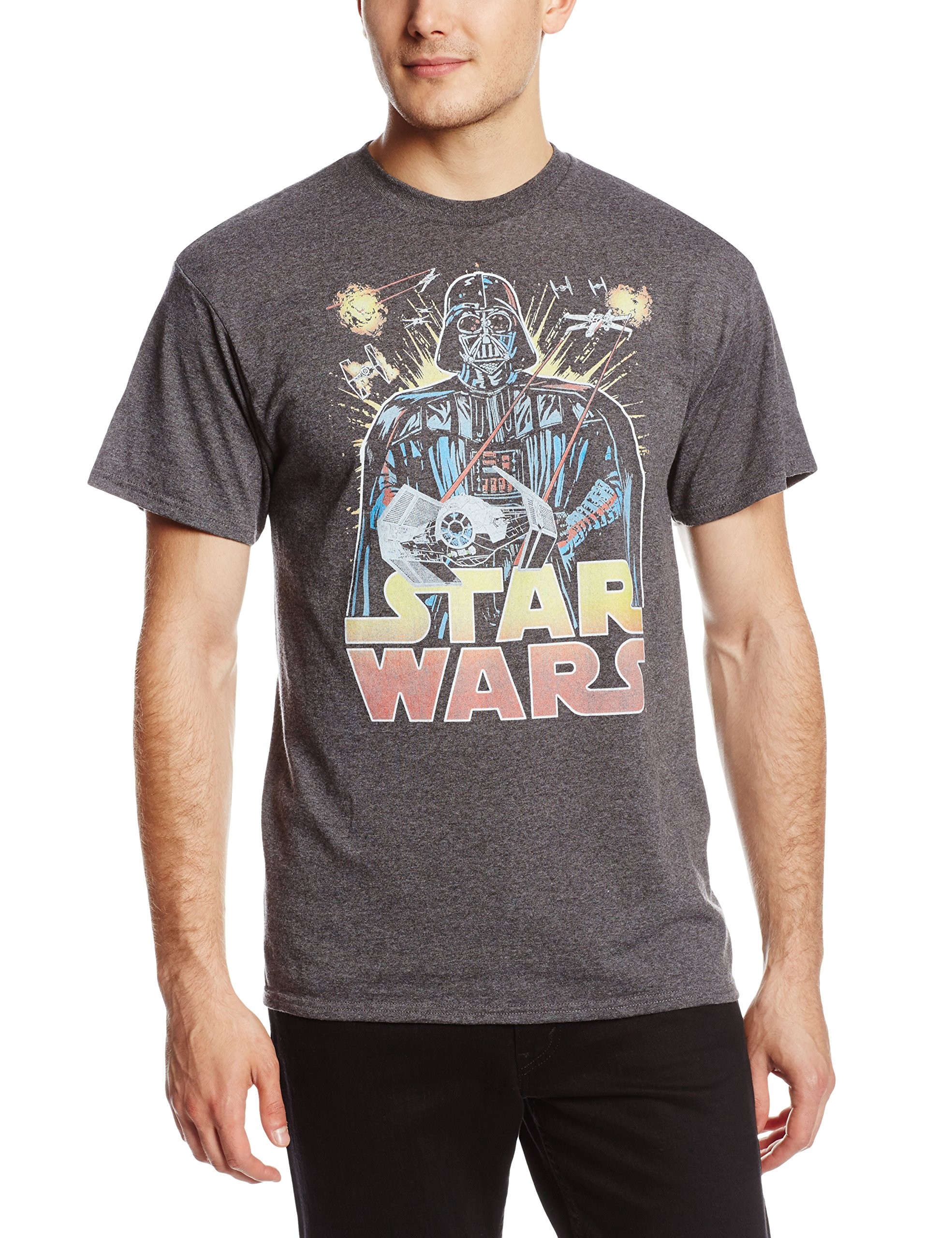 Star wars men 39 s ancient threat t shirt for Vintage star wars t shirts men