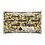 HERSHEY'S Kisses Chocolate Candy with Almonds, 66.7 Ounce Bulk Bag