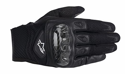 Alpinestars S-MX 2SMX 2AIR carbone gants de moto Noir