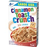 Cinnamon Toast Crunch Breakfast Cereal, Large Size, 16.8 Oz (Tamaño: 1-Pack)