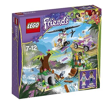 Lego Friends - 41036 - Jeu De Construction - Opération D'urgence Sur Le Pont De La Jungle