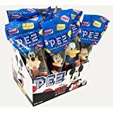 Mickey Mouse & Friends PEZ Candy Dispensers: Pack of 12 (Tamaño: 12 Pack)