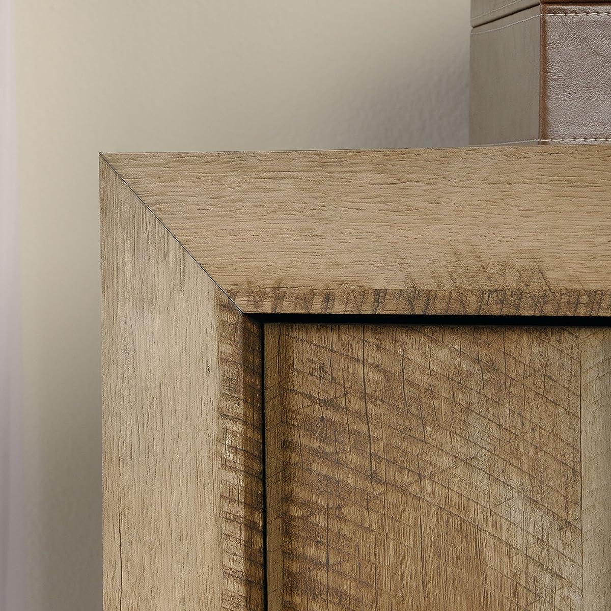 Sauder Dakota Pass Armoire in Craftsman Oak