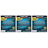 Kirkland Minoxidil 5 percentage Extra Strength Hair Loss Regrowth Treatment Men, 3 Pack (6 Months Supply)