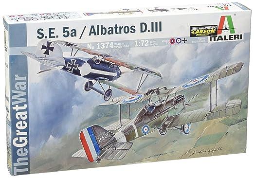 Maquette S.E.5a / Albatros D.III (Dual Pack)
