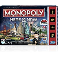 Monopoly Here And Now Game by Hasbro