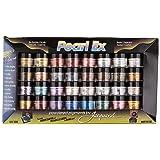 Jacquard Pearl EX Powder Pigments (32-Color Set) (Color: Assorted Metallic, Tamaño: 0.1 oz)