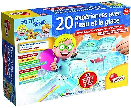 Lisciani - F54404 - Jeux Educatifs - Petit Génie - 20 Expériences Avec L'eau Et La Glace