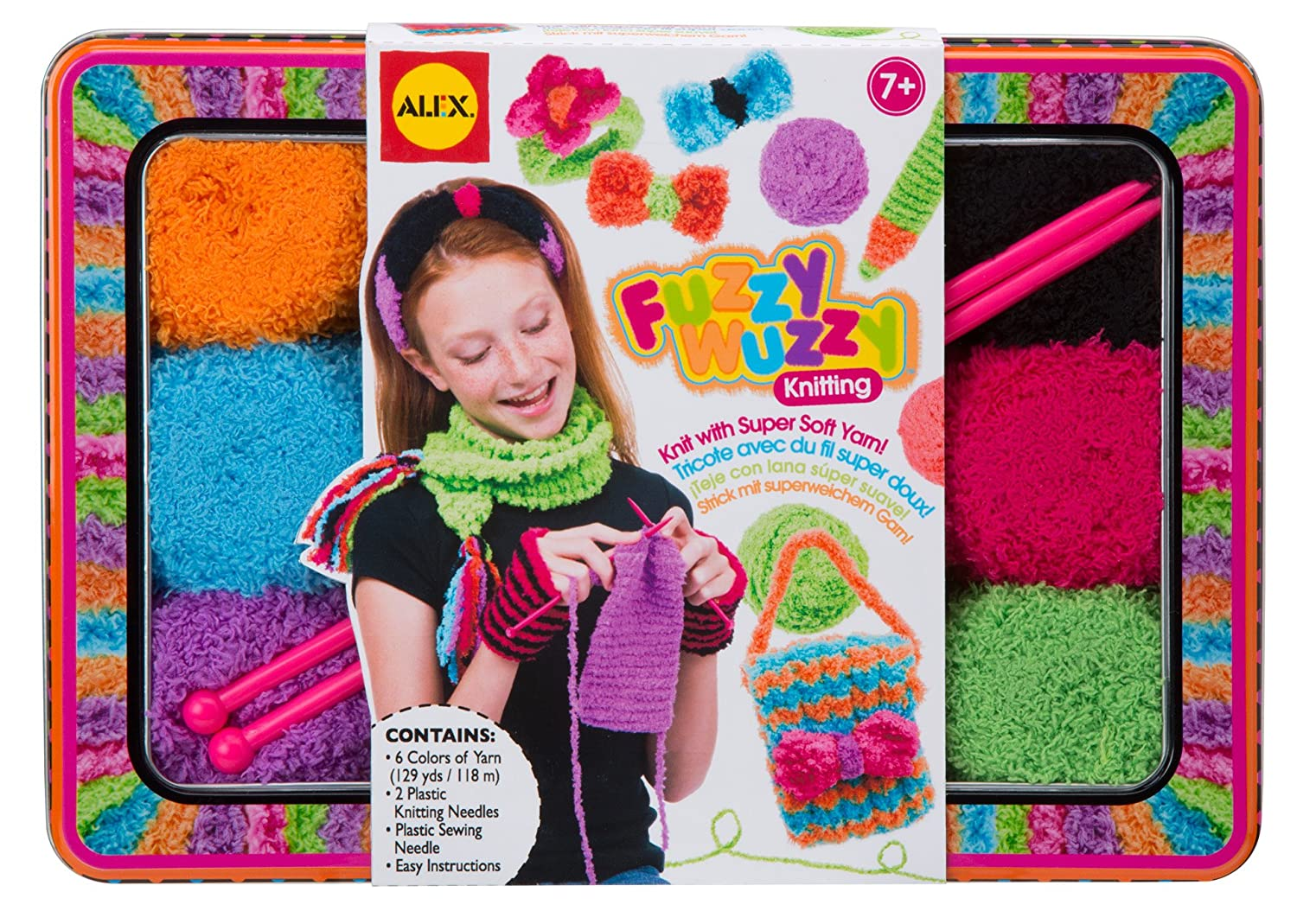 ALEX Toys - Craft, Fuzzy Wuzzy Knitting Kit