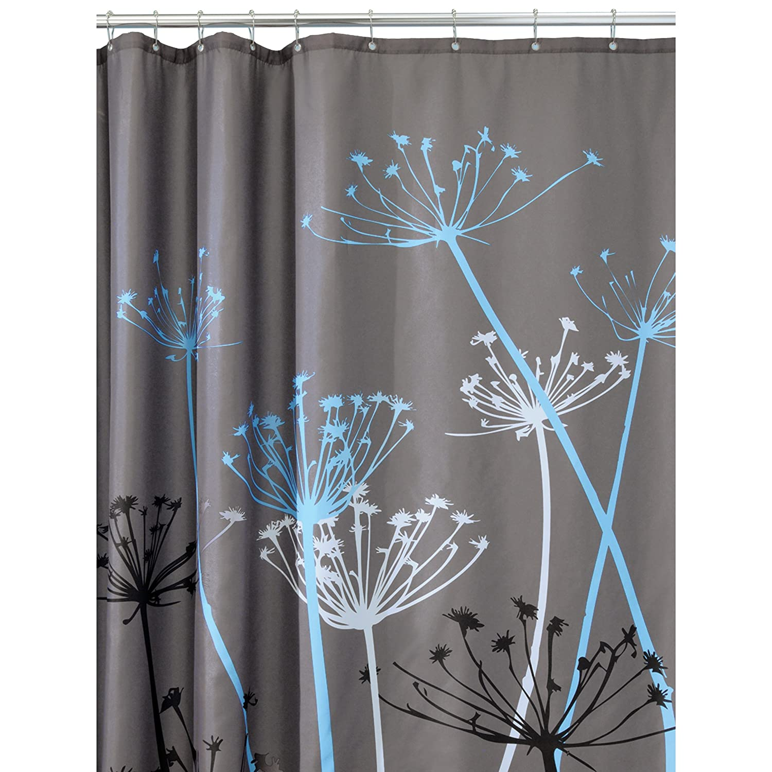 InterDesign Thistle 72-Inch by 72-Inch Shower Curtain