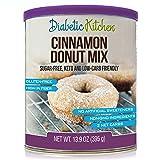Diabetic Kitchen Cinnamon Donut Mix Is Sugar-Free, Low-Carb, Keto-Friendly, Gluten-Free, High-Fiber, Non-GMO, No Artificial Sweeteners or Sugar Alcohols Ever