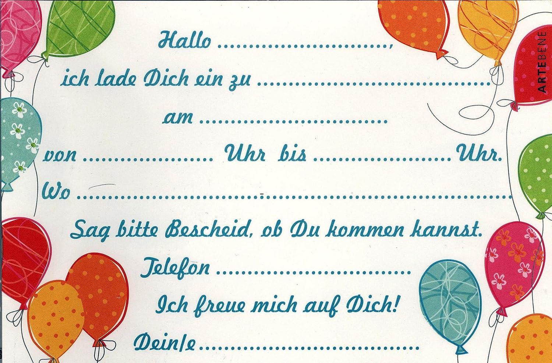 einladungskarten kindergeburtstag | Schöne Bilder