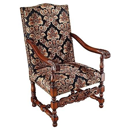 Design Toscano Milton Manor Drawing Room Armchair