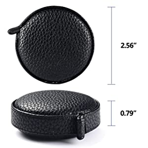 3m/120 Tape Measure Body Measuring Tape for Body Cloth Tape Measure for Sewing Fabric Tailors Medical Measurements Tape Dual Sided Leather Tape Measure Retractable (Black, 1 Pack) (Color: Black, Tamaño: 1 pack)