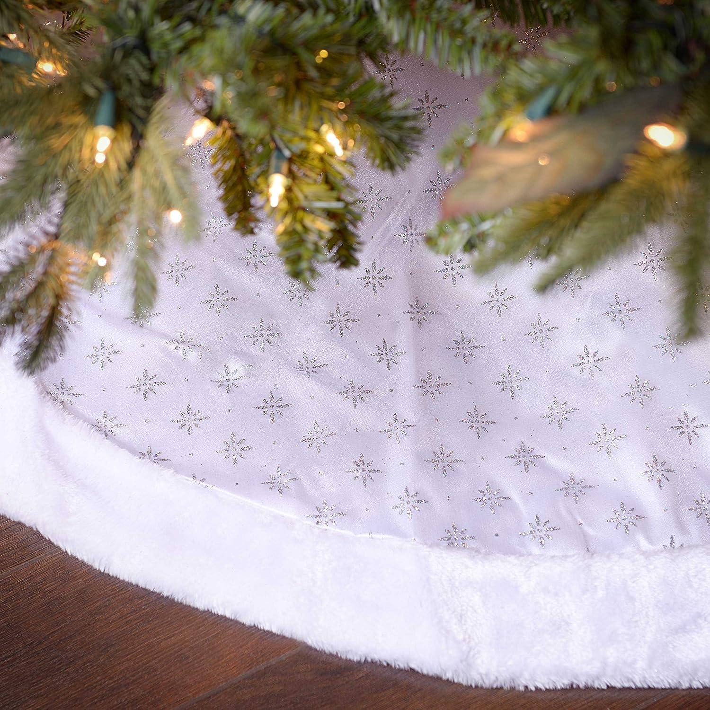 White Sheer Organza Tree Skirt