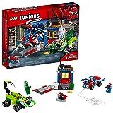 LEGO Juniors Spider-Man Vs. Scorpion Street Showdown 10754 Building Kit (125 Piece)