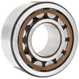 SKF NU 206 ECP/C3 Cylindrical Roller Bearing, Single Row, Removable Inner Ring, Straight Bore, High Capacity, C3 Clearance, Polyamide/Nylon Cage, Metric, 30mm Bore, 62mm OD, 16mm Width