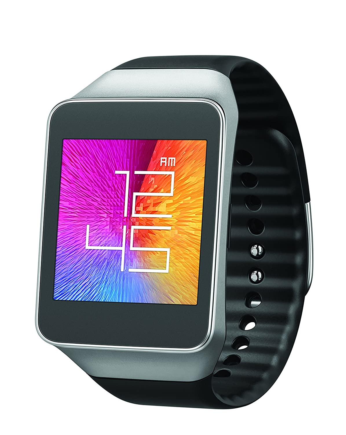 samsung galaxy gear smart watch live android sm r382 black waterproof bluetooth ebay. Black Bedroom Furniture Sets. Home Design Ideas