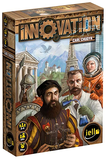 Iello - 331580 - Jeu De Cartes - Innovation