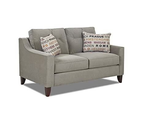 Klaussner Battleship Audrina Loveseat, 63 by 37 by 31-Inch