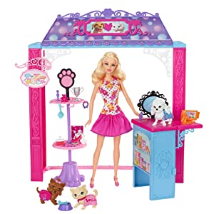 Barbie Life in The Dreamhouse Pet Boutique and Doll Playset