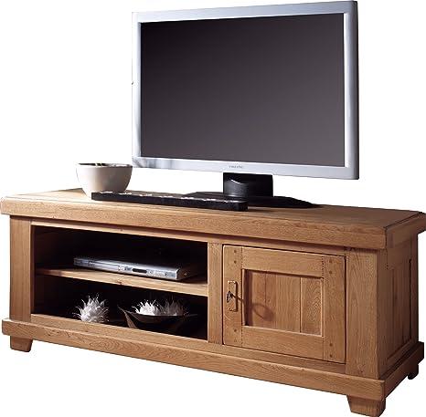 TV/Hifi-Bank, Eiche, LCD, Plasma, 1 Tur, 2 Höhlen