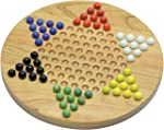 Maple Landmark Chinese Checkers Made in USA