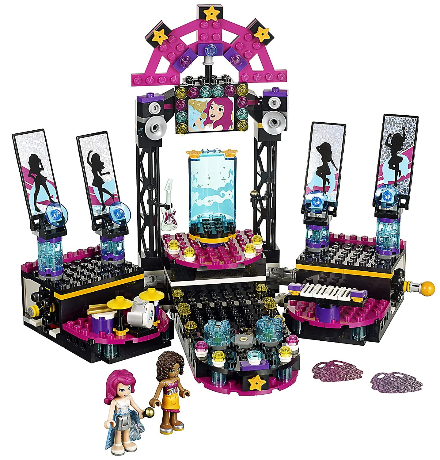 LEGO Friends Pop Star Show Stage 41105 Review