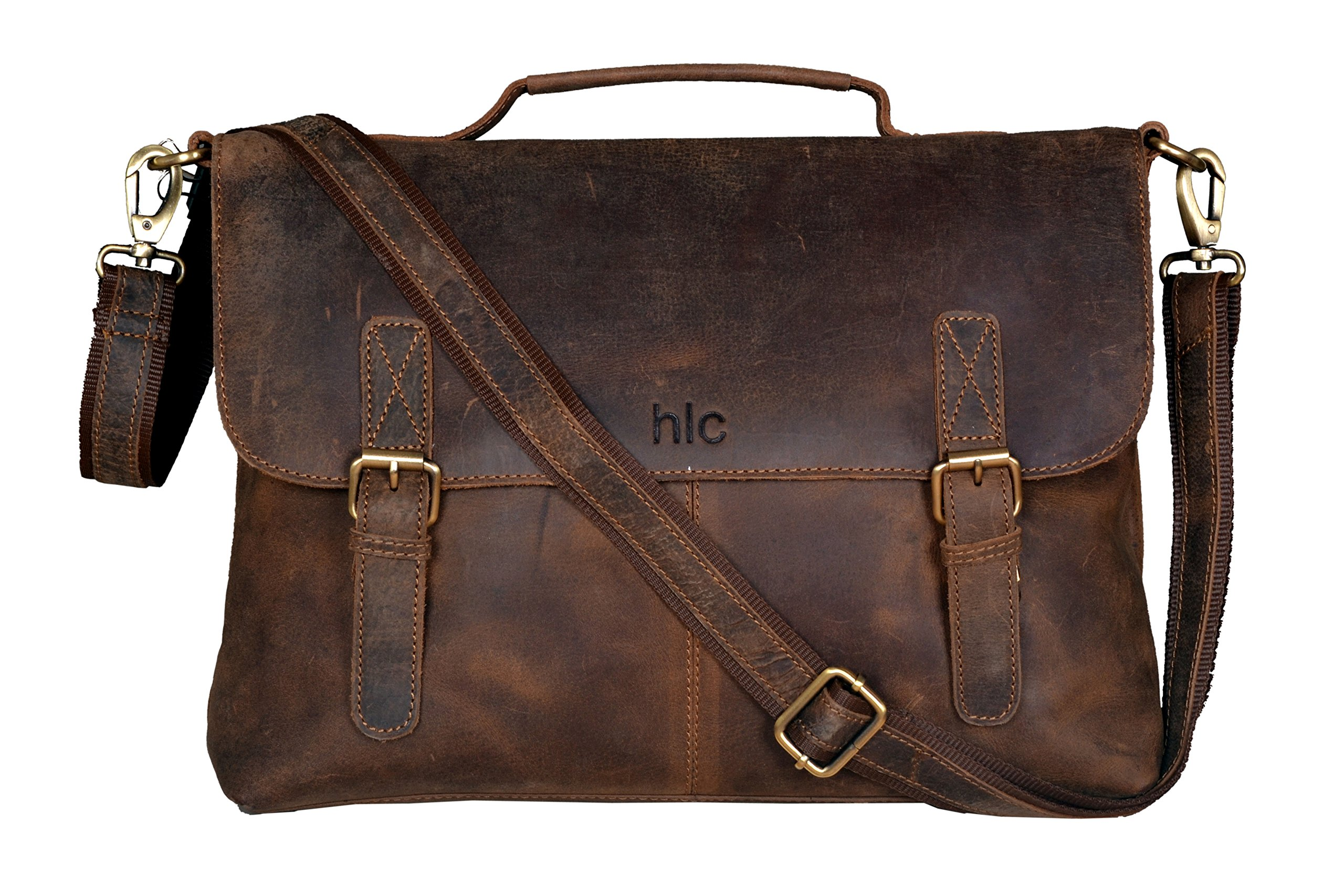 Image Result For Mens Distressed Leather Messenger