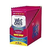 Wet Ones Antibacterial Hand Wipes, 20 Count (Pack Of 10) (Tamaño: 0)