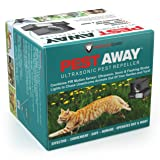 PREDATORGUARD PestAway Ultrasonic Outdoor Animal & Cat Repeller with Motion Sensor Stops Pest Animals Destroying Your Gardens & Yard